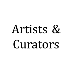 Artists and curators
